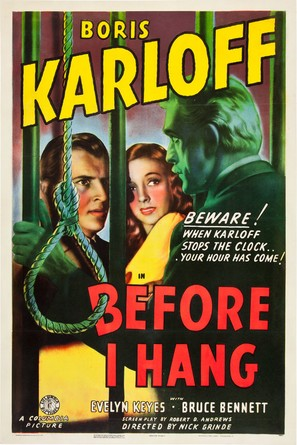 Before I Hang - Movie Poster (thumbnail)