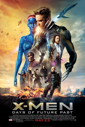 X-Men: Days of Future Past - Movie Poster (thumbnail)