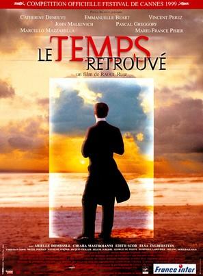 Temps retrouvé, d'après l'oeuvre de Marcel Proust, Le - French Movie Poster (thumbnail)