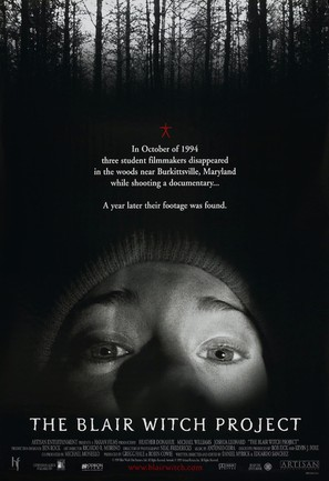 The Blair Witch Project - Movie Poster (thumbnail)