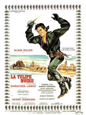 La tulipe noire - French Movie Poster (thumbnail)