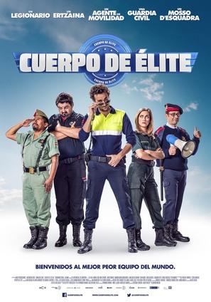 Cuerpo de Élite - Spanish Movie Poster (thumbnail)
