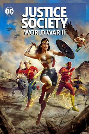 Justice Society: World War II - DVD movie cover (thumbnail)