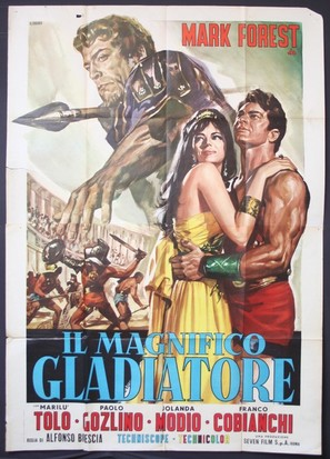 Il magnifico gladiatore - Italian Movie Poster (thumbnail)