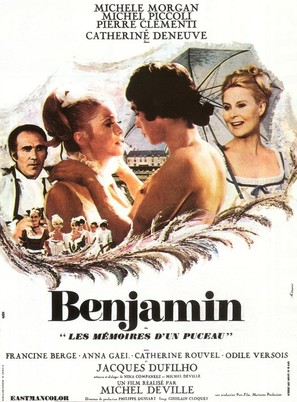 Benjamin ou Les mémoires d'un puceau - French Movie Poster (thumbnail)