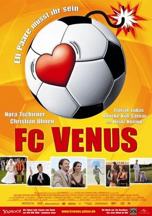 FC Venus - Frauen am Ball - German poster (thumbnail)