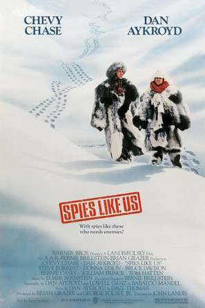 Spies Like Us - Movie Poster (thumbnail)