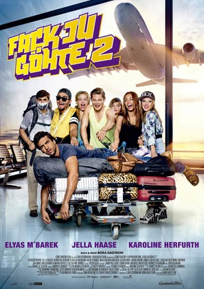 Fack Ju Göhte 2 - German Movie Poster (thumbnail)