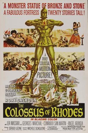 Colosso di Rodi, Il - Theatrical poster (thumbnail)