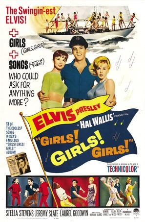 Girls! Girls! Girls! - Movie Poster (thumbnail)