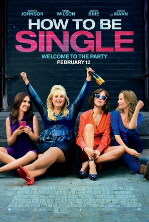 How to Be Single - Movie Poster (thumbnail)