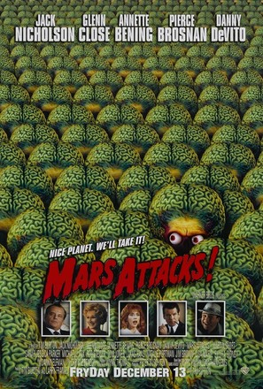 Mars Attacks! - Theatrical movie poster (thumbnail)