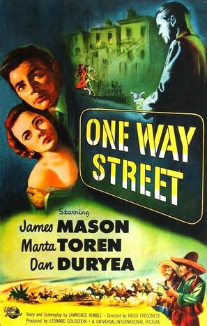 One Way Street - Movie Poster (thumbnail)