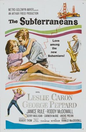 The Subterraneans - Movie Poster (thumbnail)