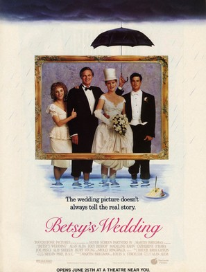Betsy's Wedding - Movie Poster (thumbnail)
