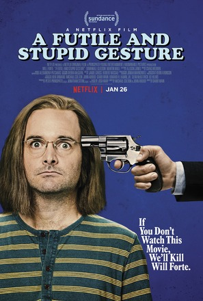 A Futile & Stupid Gesture - Movie Poster (thumbnail)