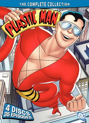 """The Plastic Man Comedy/Adventure Show"" - DVD cover (thumbnail)"