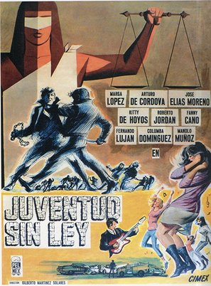 Juventud sin ley - Mexican Movie Poster (thumbnail)