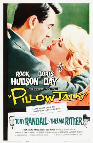 Pillow Talk - Theatrical movie poster (thumbnail)