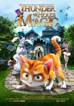 Thunder and The House of Magic - Movie Poster (thumbnail)