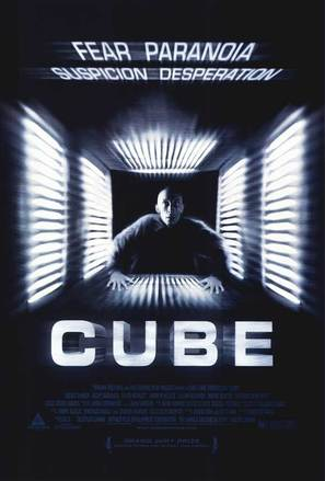 Cube - Movie Poster (thumbnail)