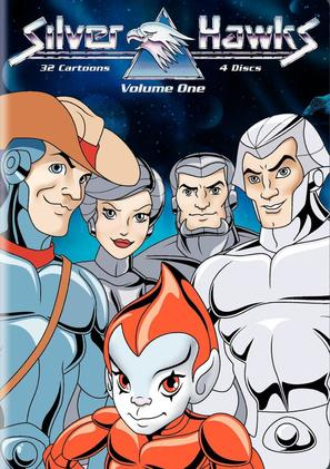 """Silverhawks"" - DVD movie cover (thumbnail)"
