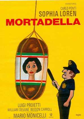 La mortadella - French Movie Poster (thumbnail)