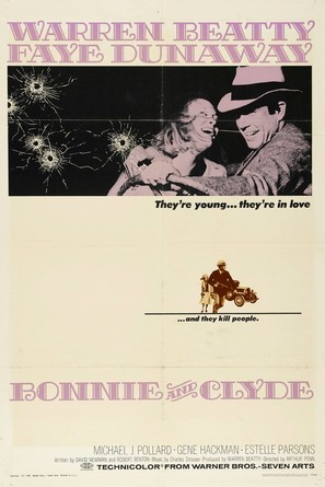Bonnie and Clyde - Movie Poster (thumbnail)