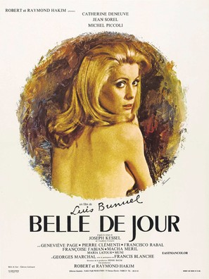Belle de jour - French Theatrical movie poster (thumbnail)