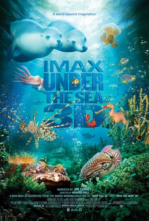 Under the Sea 3D - Movie Poster (thumbnail)