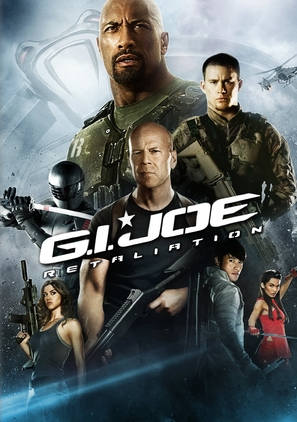 G.I. Joe: Retaliation - DVD movie cover (thumbnail)