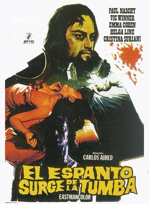 Espanto surge de la tumba, El - Spanish Movie Poster (thumbnail)