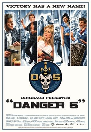 """""""Danger 5"""" - Australian Movie Poster (thumbnail)"""