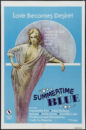 Summertime Blue - Movie Poster (thumbnail)