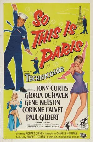 So This Is Paris - Movie Poster (thumbnail)