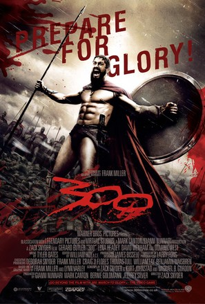 300 - British Movie Poster (thumbnail)