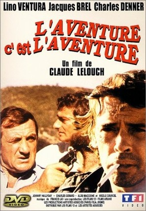 Aventure, c'est l'aventure, L' - French Movie Cover (thumbnail)