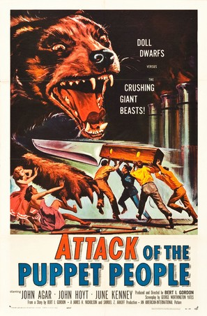 Attack of the Puppet People - Movie Poster (thumbnail)