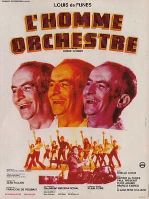 L'homme orchestre - French Movie Poster (thumbnail)