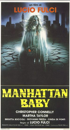 Manhattan Baby - Italian Movie Poster (thumbnail)
