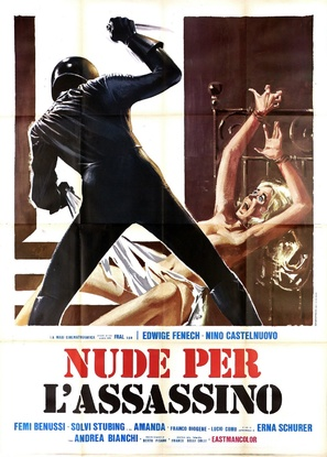 Nude per l'assassino - Italian Movie Poster (thumbnail)