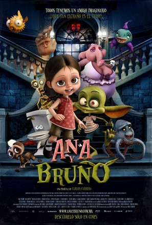 Ana y Bruno - Mexican Movie Poster (thumbnail)