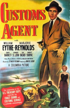 Customs Agent - Movie Poster (thumbnail)