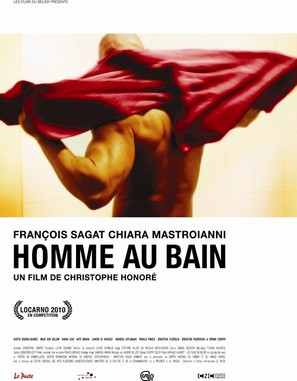 Homme au bain - French Movie Poster (thumbnail)