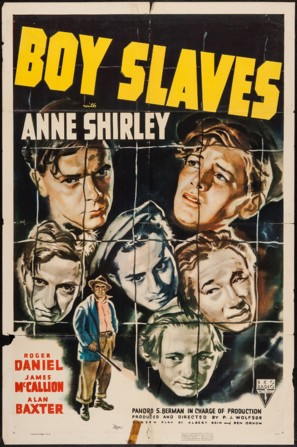 Boy Slaves - Movie Poster (thumbnail)