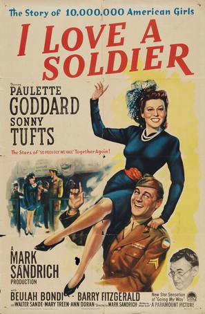 I Love a Soldier - Movie Poster (thumbnail)