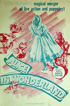 Alice in Wonderland - Movie Poster (thumbnail)