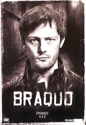 """""""Braquo"""" - French DVD movie cover (thumbnail)"""