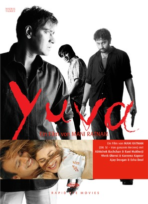 Yuva - German Movie Cover (thumbnail)