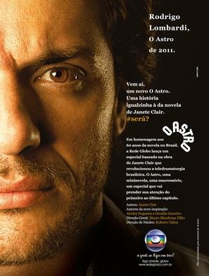 """""""O Astro"""" - Brazilian Movie Poster (thumbnail)"""